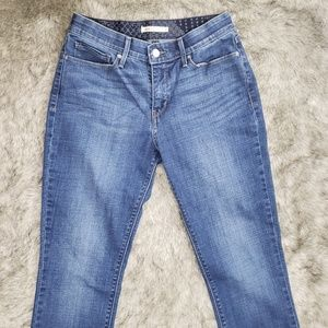 Levi's 525 Perfect Waist Straight Jeans Womens 8